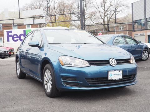 Pre-Owned 2015 Volkswagen Golf 1.8T S PZEV