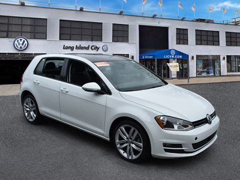 Pre-Owned 2017 Volkswagen Golf 1.8T 4-Door S Auto