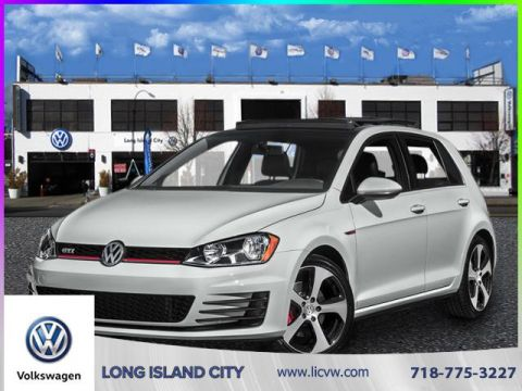 New 2017 Volkswagen Golf GTI 4DR